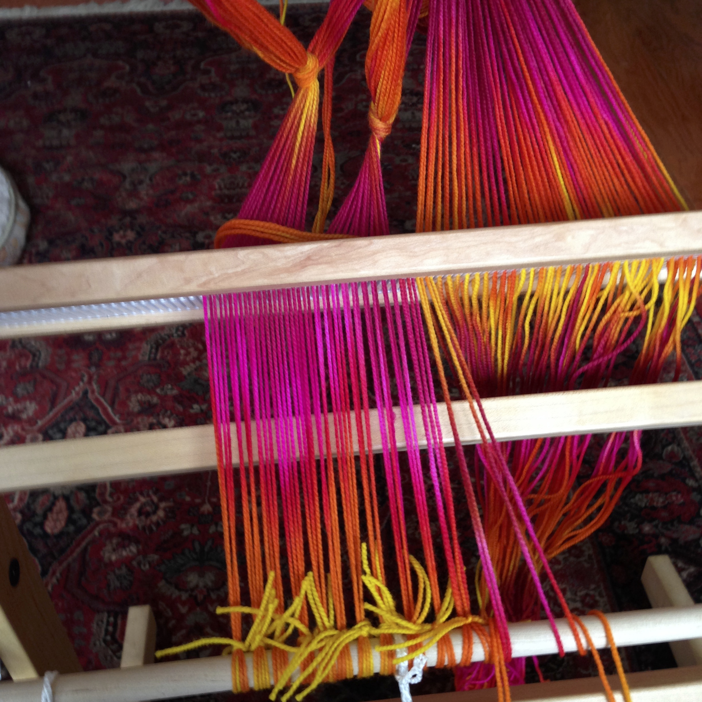 Weaving | Hi, my name is Fyreball and I'm a fiber fanatic